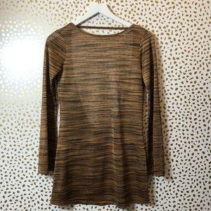 REFORMATION Brown longsleeve mini dress SIZE XS